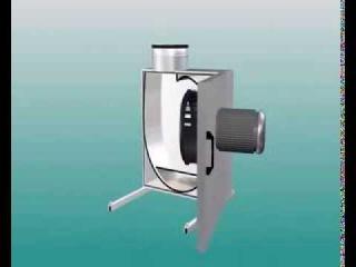 Принцип работы вытяжного центробежного вентилятора