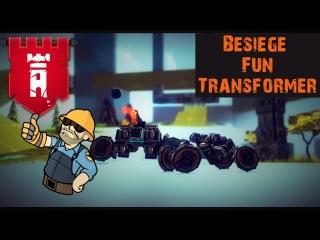 Мини трансформер в Besiege
