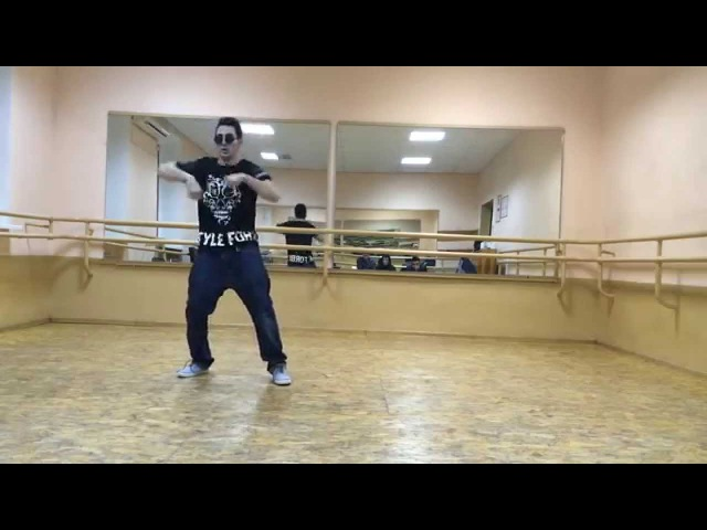Mr.Gor(popping freestyle practice)soul power crew