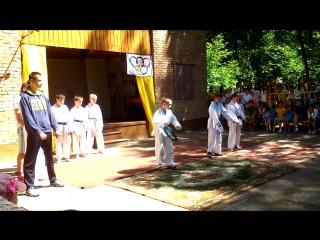 школа каратэ кесера  показательное выступление