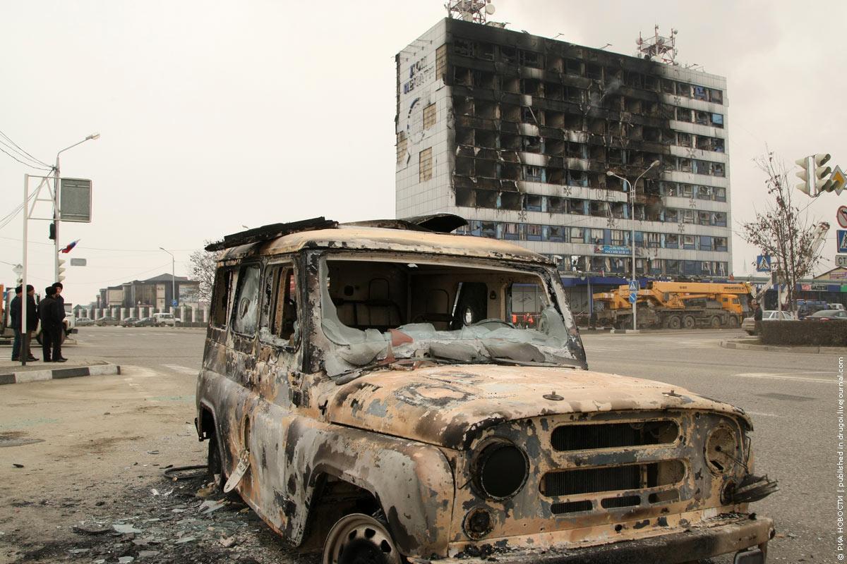 Бой в Грозном