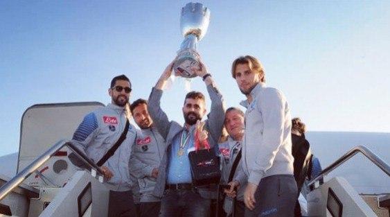 Игроки Наполи отправились на каникулы до 29 декабря