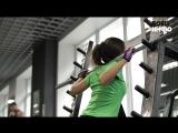 Nicefitness. Видео-урок #3. Качаем бедра и ягодицы - приседания со штангой 720 HD