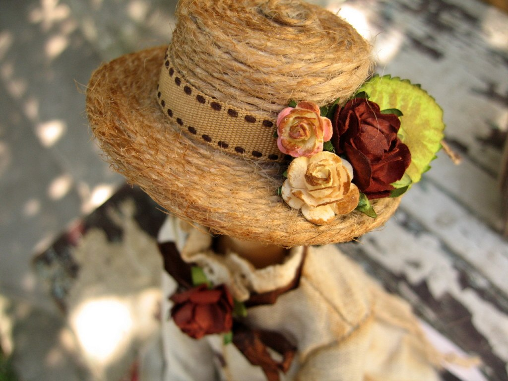 шляпка для тильды