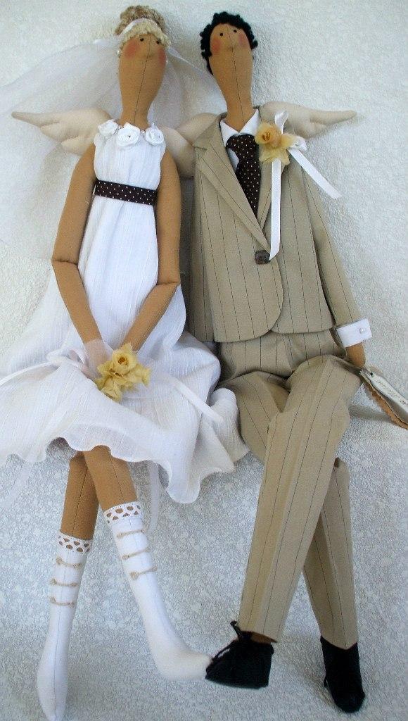 тильда жених с невестой