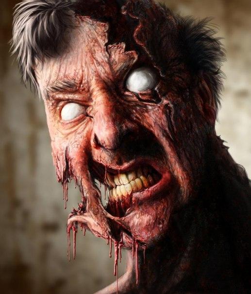 картинки зомби на аву