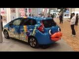Самый губастый автомобиль Токио