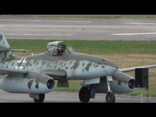 Ме-262 и МИГ-15. Чехия 5 сентября 2015г.