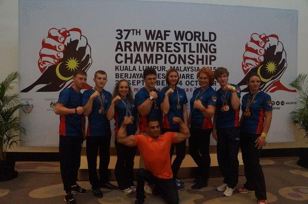 Спортсмены из Чистополя стали призерами чемпионата мира по армрестлингу