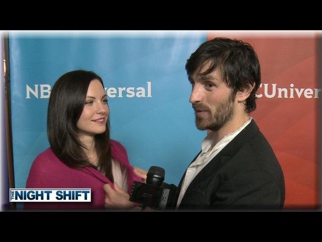 Jill Flint Eoin Macken | Sexual Tension | The Night Shift