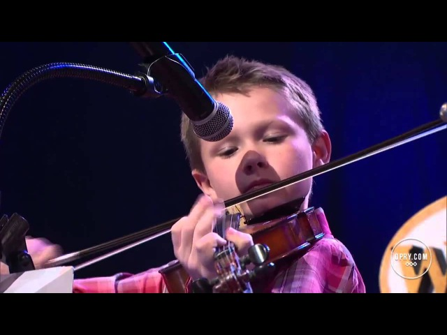 Carson Peters and Ricky Skaggs - Blue Moon of Kentucky