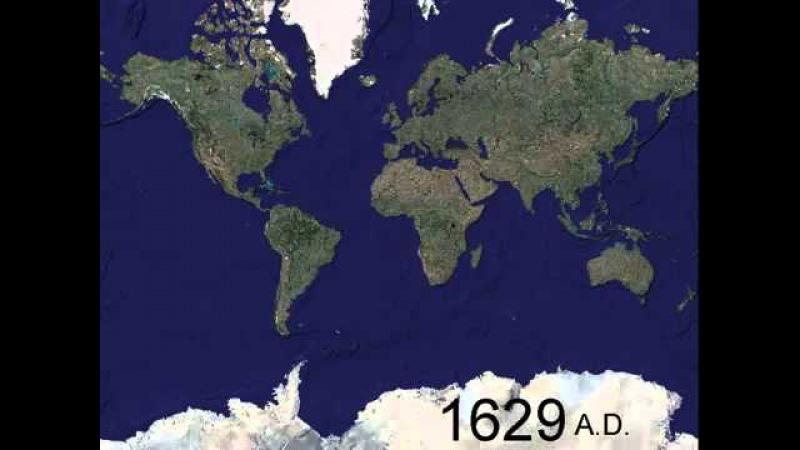 Мир в войнах. 1000 лет за 5 минут
