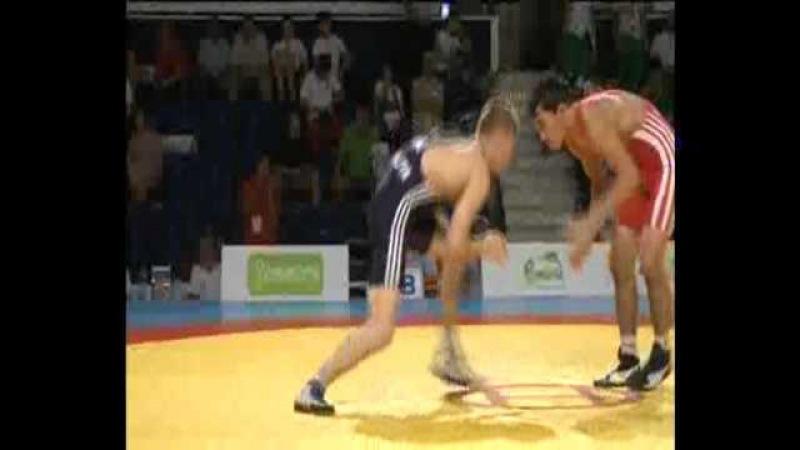 60kg OKASSOV, Sayatbek (KAZ) - PERPELITA, Maxim (MDA), FS Junior World Championship 2011