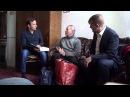 Юрий Степанович общается с представителем американской организации свидетелей имени еврейского бога.
