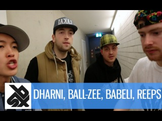 REEPS ONE, DHARNI, BALL-ZEE & BABELI | Grand Beatbox Battle Freestyle Jam