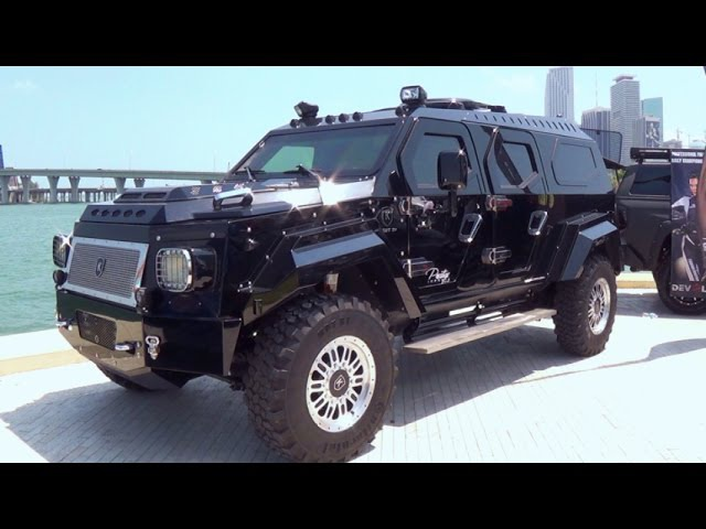 KNIGHT XV The Worlds Most Luxurious Armored Vehicle $629,000. Civilian version of AAVI's Gurkha F5
