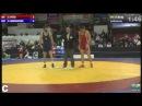 Marsagishvili(GEO)-Peter(AUT) preliminary - 86 kg European Championship 2014 - Vantaa