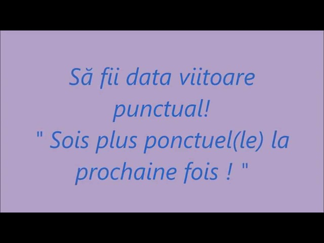 Curs rapid de Limba Franceza fara profesor: 24 Întâlnire (Le rendez-vous)