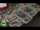 Испания Каталонский победа на выборах ставит движение за независимость на переднюю ногу.