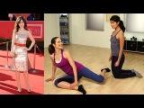 Zooey Deschanels Bar Method Workout | Full Body Workout | Get the Bod