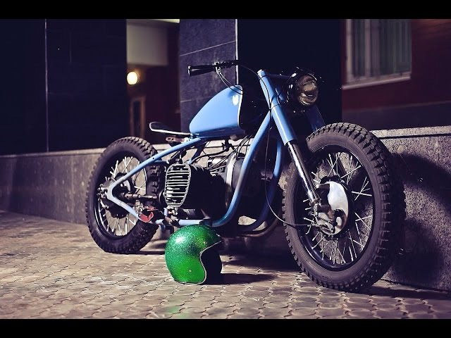 к-750 flat head boxer bobber first ride