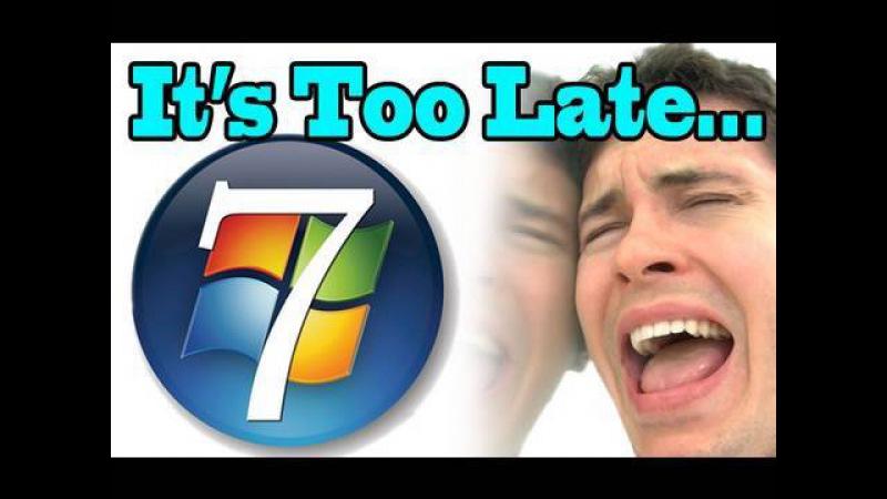 Too Late, Windows 7 - OneRepublic feat. Timbaland - Apologize Parody