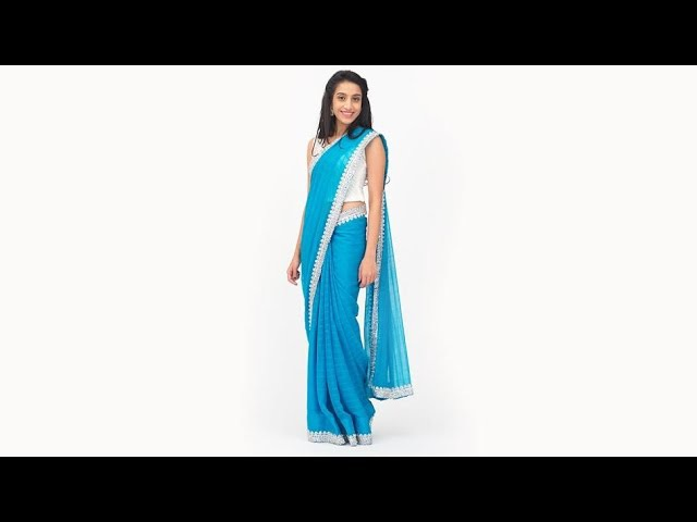 How To Wear A Saree Perfectly 3 Amazing Saree Draping Tricks