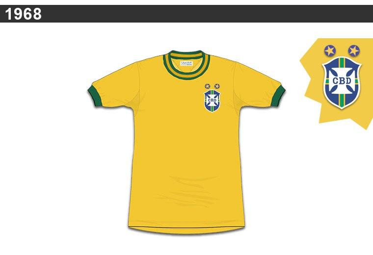 camisa 1968