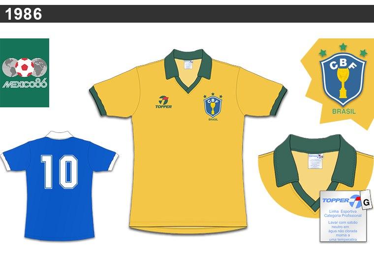 camisa 1986