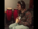Amazing! Steve Vai is killing it in the studio! The Heidi and Frank Show, 10.04.2015