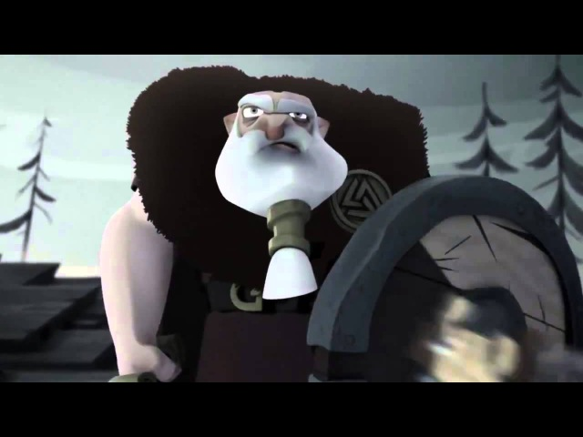 Супер Мульт про Викинга, попавшего в рай