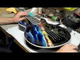 Atomic Custom Guitars Night Ranger Jack Blades Cf98 Californium Bass