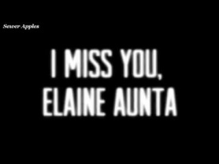 ~I Miss You~ For My Elaine Aunta~ Vent~ TMNT~Annihilation Earth~