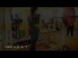 Gunel Talybova Тренировка 22.10.2014 Небольшая проходка (приседания)