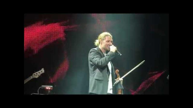 David Garrett - We are the Champions - Queen - Frankfurt 05.10.2014