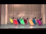 Танец Цыганский. Хореографический ансамбль Вдохновение, старшая группа