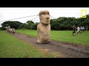 Scientists Make Easter Island Statue Walk National Geographic
