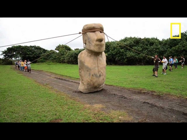 Scientists Make Easter Island Statue Walk | National Geographic
