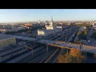 Ремонт ж/д моста Волгоград 02.10.2015