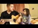 Папа и дочка поют дуэтом песню маме в день РожденьяOne Day Hоliday 8-968-945-41-62.