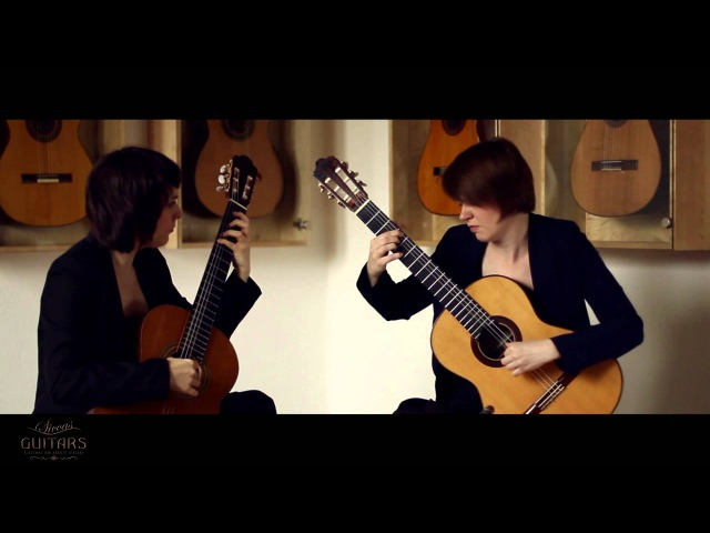 Koshkin Guitar Duo plays Intermezzo by Reinhold Glière Arr. by Nikita Koshkin