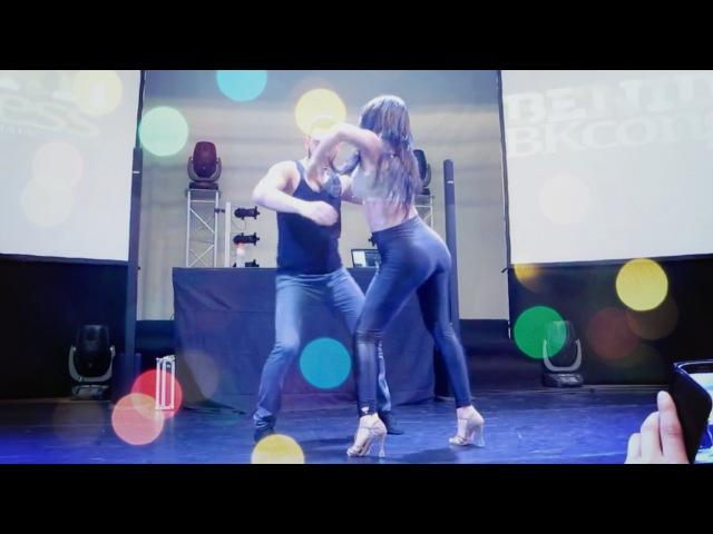 ЭТА ДЕВОЧКА СВОДИТ С УМА! Dance Bachata 2015