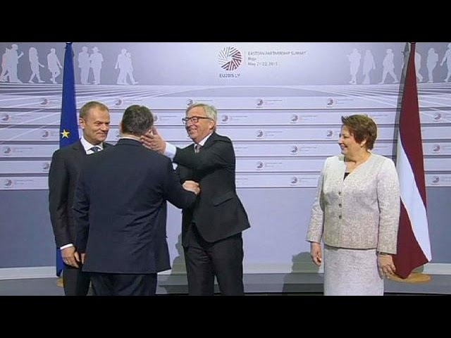 'Here comes the dictator' Juncker's cheeky welcome for Hungarian PM