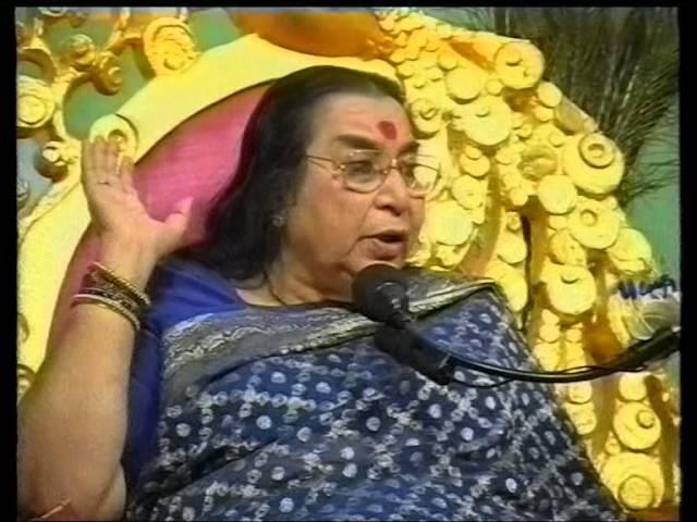 Лекция Шри Матаджи - пуджа шри Кришне 2000 г.