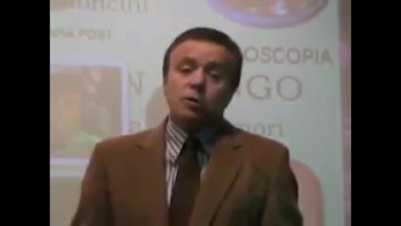 Выступление врача онколога Туллио Симончини