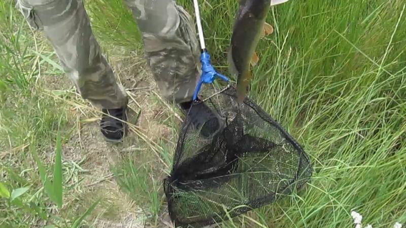 Рыбалочка на каналах :) Вытянули кабаса)