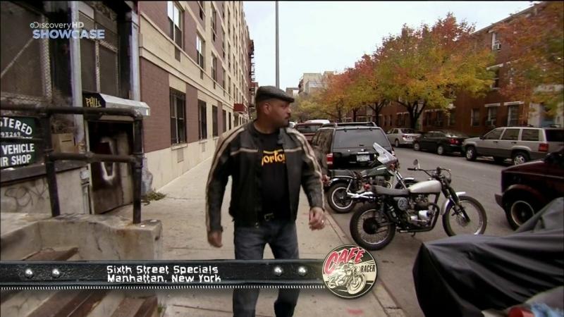 Discovery Гоночный мотоцикл Cafe Racer 3 сезон 5 серия