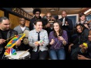 """Jimmy Fallon, Idina Menzel & The Roots Sing """"Let It Go"""" from """"Frozen"""" (w/ Classroom Instruments)"""