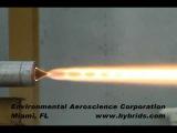 Environmental Aeroscience - Огневые испытания твердотопливного ракетного двигателя Aerospike