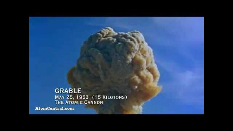 Испытание атомной бомбы. Смотри как все сгорает на пути ее взрыва! » Freewka.com - Смотреть онлайн в хорощем качестве